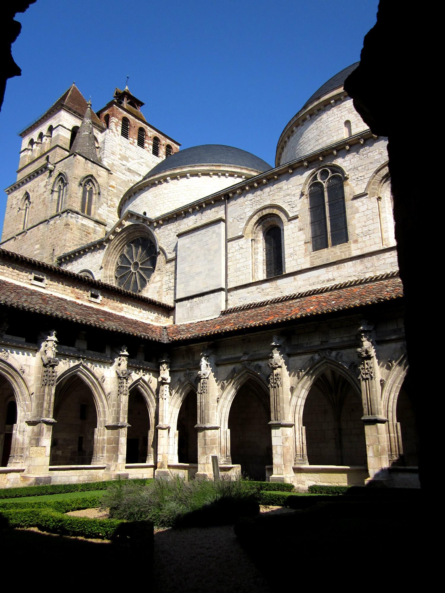20 vers cahors 21 5 km via arverna - Cathedrale saint etienne de cahors ...
